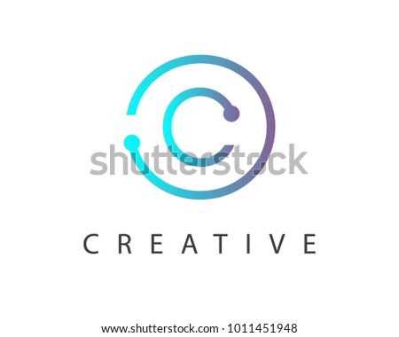 Abstract Letter O Or Circle Logo Design Download Free Vector Art