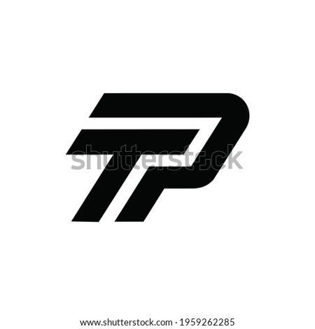 initial letter TP logo or icon monogram. EPS 10 Stock fotó ©
