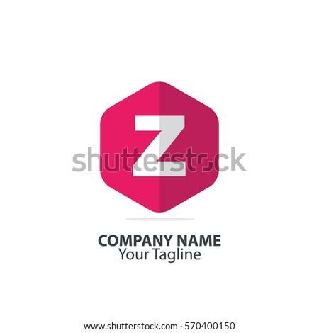 Initial Letter Z Hexagon Logo