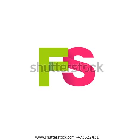 initial letters fs overlapping