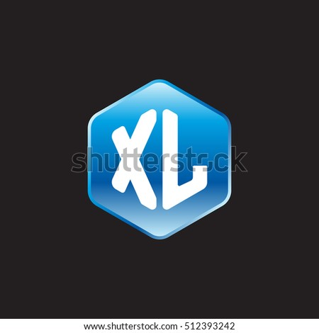 initial letters xl rounded