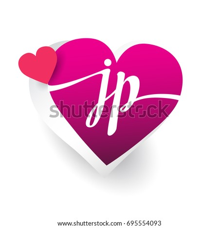 Love Heart With Letter J