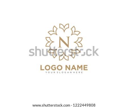 letter n premium logo design template download free vector art