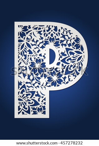 Fancy Letter P Designs