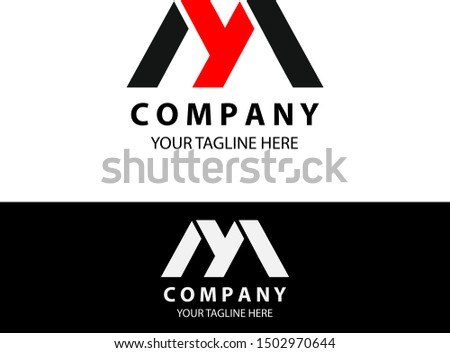 initial my technology logo