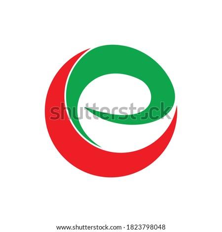 initials CE logo design for business Zdjęcia stock ©