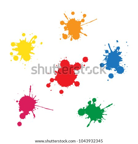 ink blobs concept Stock photo ©