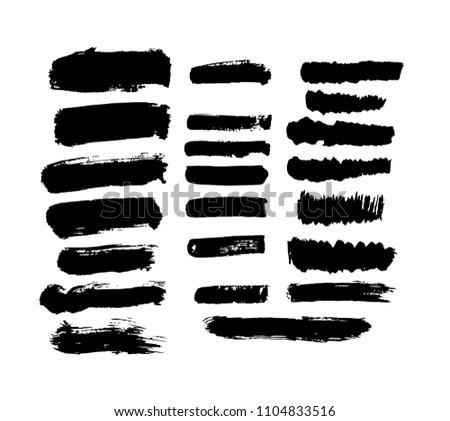 ink brushes.  design #1104833516