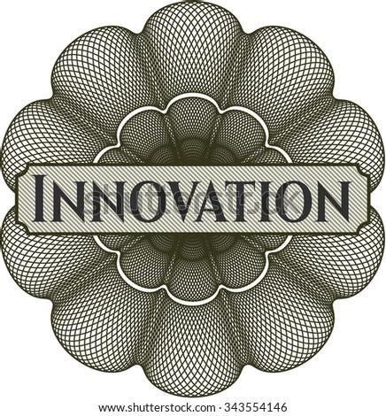 Innovation abstract rosette