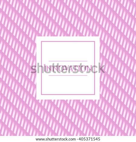 Innovation card or banner