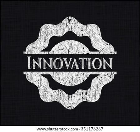 Innovation chalk emblem