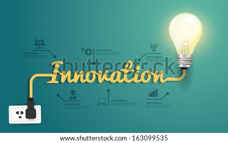 innovation concept  creative...