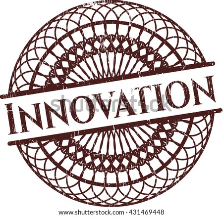 Innovation grunge seal