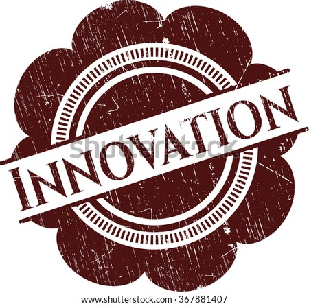 Innovation grunge stamp