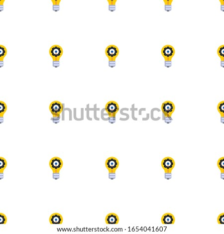 innovation icon pattern seamless isolated on white background. Editable flat innovation icon. innovation icon pattern for web and mobile.