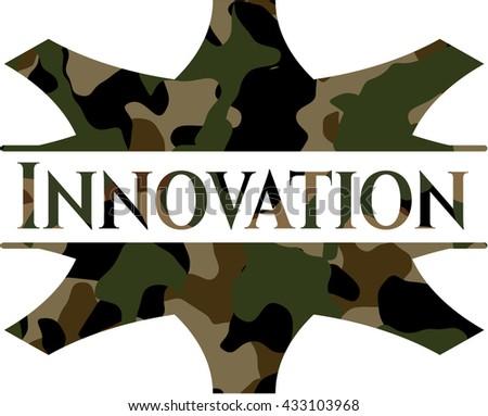 Innovation on camo pattern