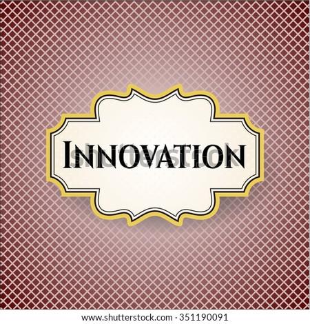Innovation poster or banner