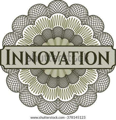 Innovation rosette (money style emplem)