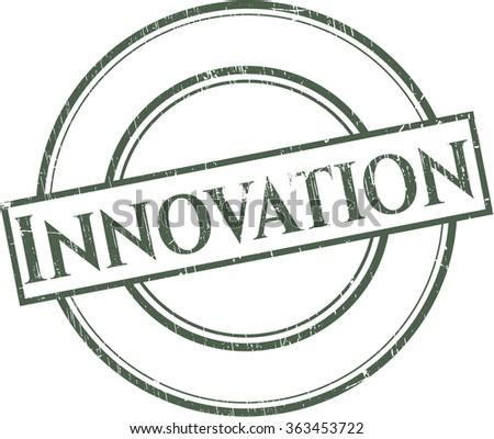 Innovation rubber grunge texture stamp