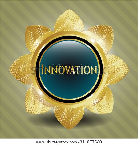 Innovation shiny emblem