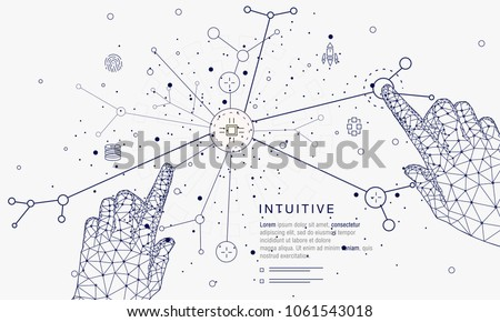 stock-vector-innovations-systems-connecting-people-and-robots-devices-future-technologies-in-automatics-cyborg