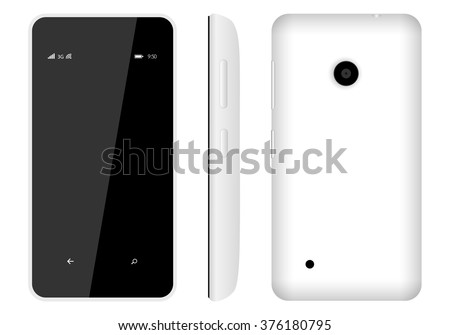 nokia logo white. inokia lumia 530 is a great smartphone running on windows phone equipped with oled-display nokia logo white
