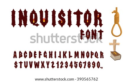 inquisitor font ancient gothic