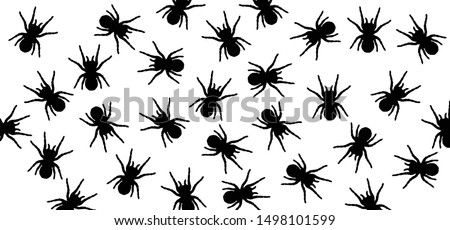 Insect spider spiders spin banner Vector icon icons sign signs happy halloween party day fun spooky logo creepy horror hush dia 31 october fest Spiderman hallow Webbing   Accident Cobweb web zombie