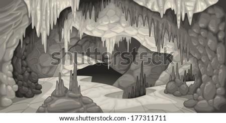 inside the cavern cartoon and