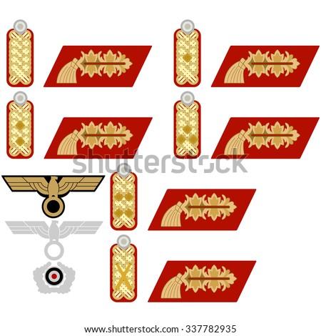 insignia generals wehrmacht in