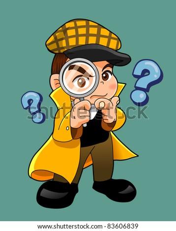 inspector cartoon