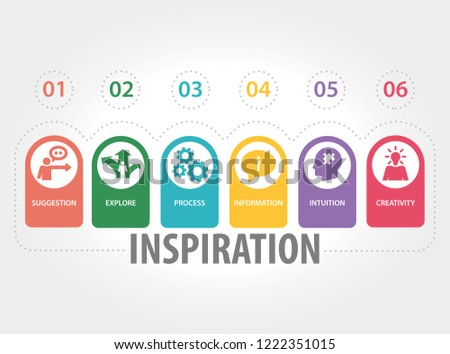 INSPIRATION INFOGRAPHIC CONCEPT