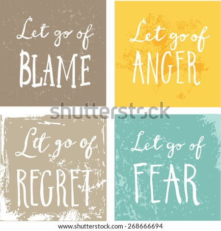 how to let go of worry and fear