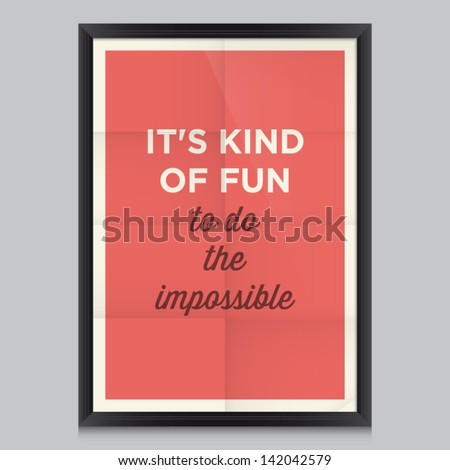 inspirational and motivational quotes poster by Walt Disney Effects poster frame colors background and colors text are editable Ideal for print poster card shirt mug