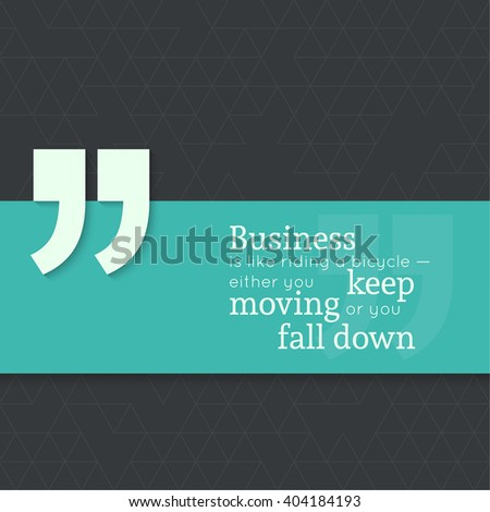 inspirational quote business