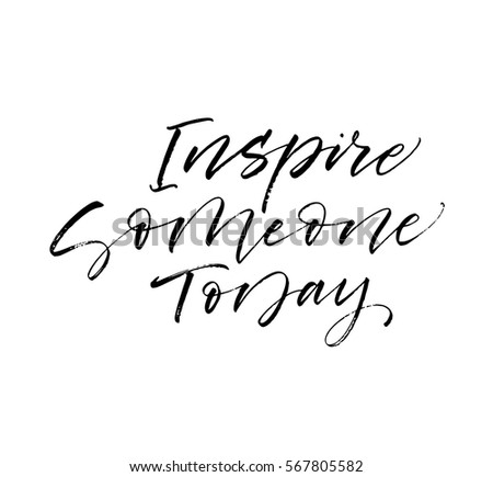 inspire someone today postcard