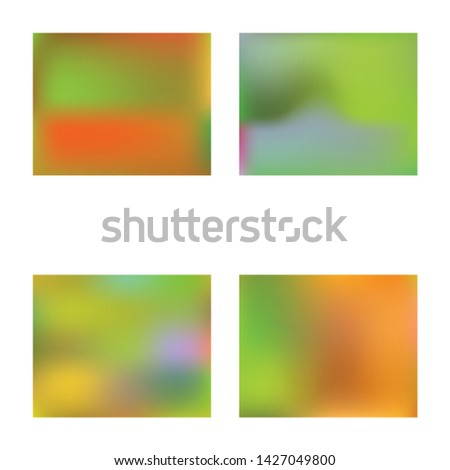 Inspiring colorful modern background. Colorful backdrop with bright rainbow colors. Vector illustration texture. Green easy editable and soft colored banner template.