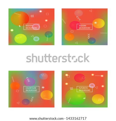 Inspiring colorful modern background. Colorful backdrop with bright rainbow colors. Vector illustration pastel. Red easy editable and soft colored banner template.