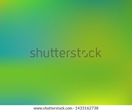 Inspiring colorful modern background. Colorful backdrop with bright rainbow colors. Vector illustration theme. Green easy editable and soft colored banner template.