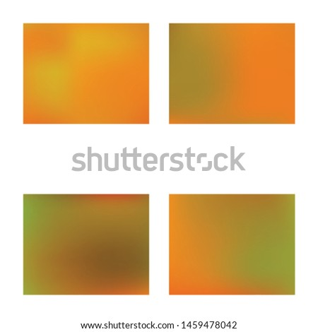 Inspiring colorful modern background. Colorful backdrop with simple muffled colors. Vector illustration art. Orange easy editable and soft colored banner template.