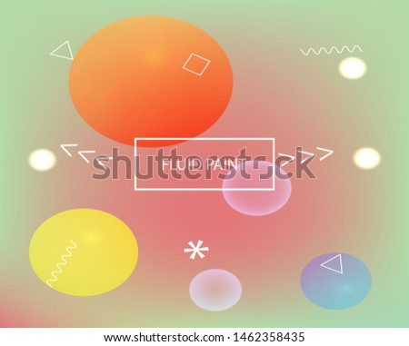 Inspiring colorful modern background. Colorful backdrop with simple muffled colors. Vector illustration theme. Pink easy editable and soft colored banner template.