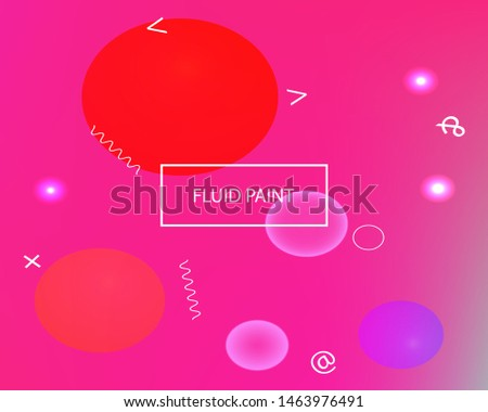 Inspiring colorful modern background. Simple backdrop with simple muffled colors. Vector illustration vintage. Pink easy editable and soft colored banner template.