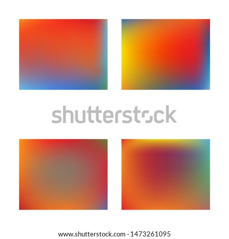 Inspiring colorful modern background. Vector illustration vintage. Simple backdrop with simple muffled colors. Red easy editable and soft colored banner template.