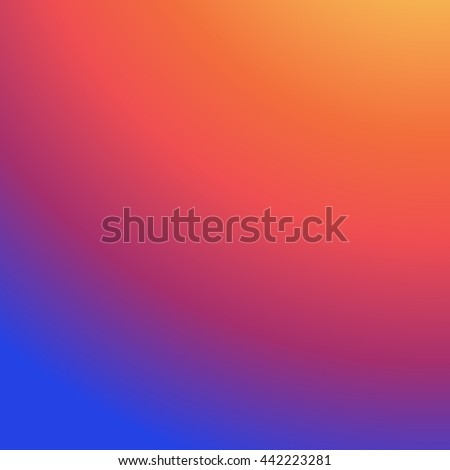 Instagram Background Gradient, Insta Vector Logo, Social Media, Colorful smooth color, Abstract wallpaper
