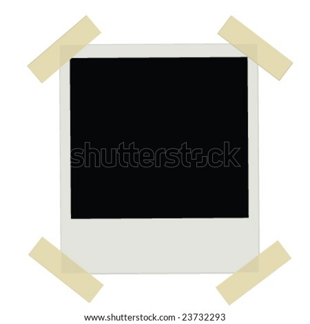 Instant Photo Film (JPG file version available in my portfolio) - stock vector