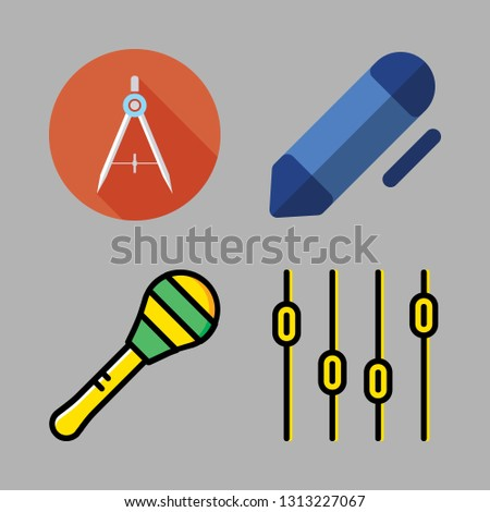 instrument icons set. vector set about [ iconsRandom] icons set.
