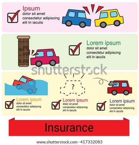 insurance company vector