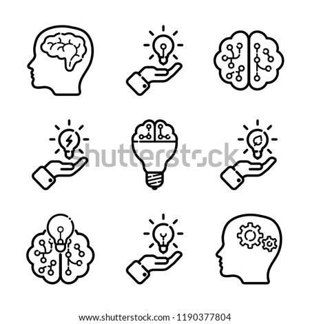 Intellect Icon Set
