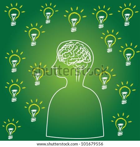 Intelligence,Brain,Vector