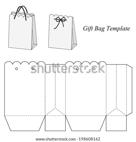 Download Abstract Vector Paper Bag Free 18377